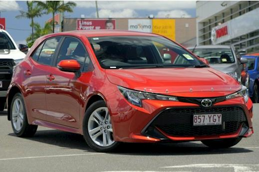Demo 2018 Toyota Corolla Ascent Sport Hatch Automatic CVT (Volcanic Red) b0257d0e3d86