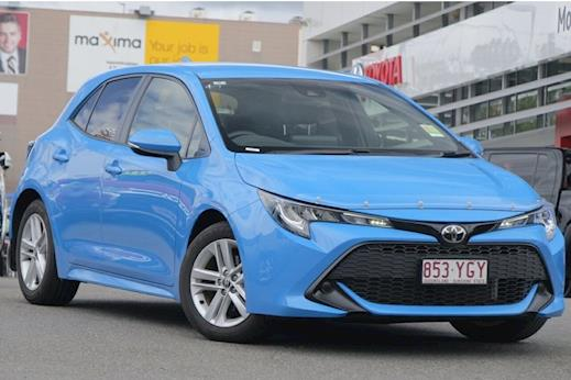 the latest f45d4 7b6a2 Demo 2018 Toyota Corolla Ascent Sport Hatch Automatic CVT (Eclectic Blue)  with Satellite Navigation