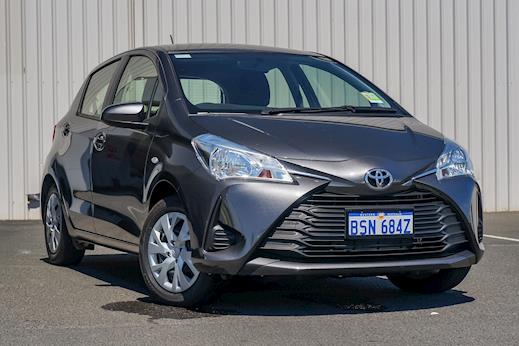 Demo 2017 Toyota Yaris Ascent Hatch Automatic (Graphite)