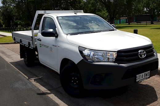 HiLux 4x2 Workmate Single-Cab Cab-Chassis   Northpoint Toyota